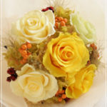 B040 Glam Bouquet Canary Yellow