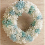 W058 Sky Blue Wreath