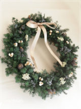 W015 Evergreen Wreath