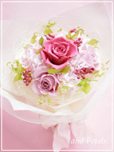 B023 Gradation Bouquet Pink