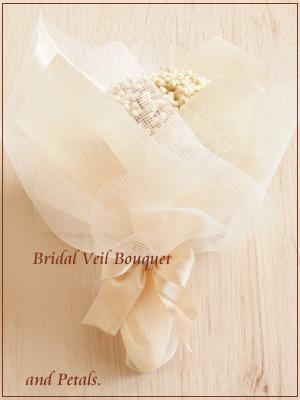 プリザーブドフラワーのカスミソウだけのアンティークな花束