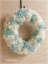 W058 Sky Blue Wreath