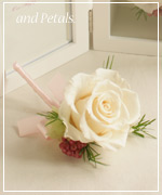 OF31 花束贈呈のブトニア