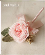 OF48 花束贈呈のブトニア