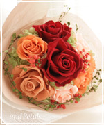 OM20 ご両親へ花束贈呈
