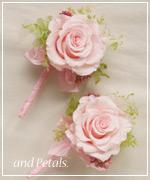 OP123 花束贈呈のブトニア