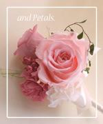OP53 花束贈呈のブトニア