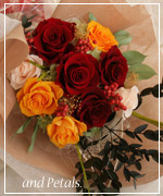 OR47 ご両親へ花束贈呈