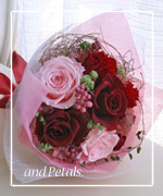 OR1 ご両親へ花束贈呈