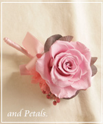 OW148 花束贈呈のブトニア