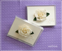 バラのメッセージカード