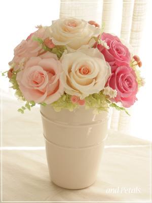花束からアレンジメントに2