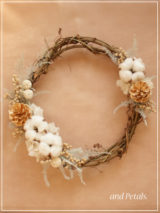 W062 Twinkling Cone Wreath
