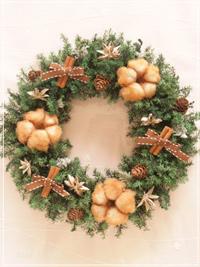 W070 Teddy Bear Wreath