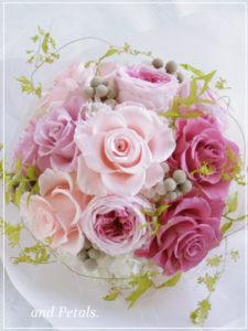 orp2007 ご両親へ花束贈呈