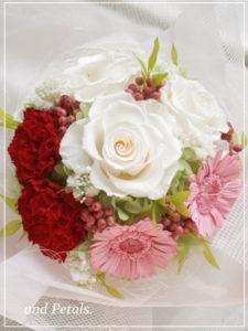 orp2011 ご両親へ花束贈呈