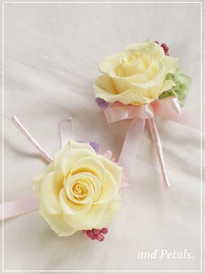orw2011 花束贈呈のブトニア