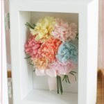 F007 Mom's Carnation Photoframe
