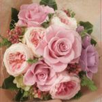B048 Mauve Color Bouquet