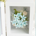F003 Splash Blue Photoframe Mini