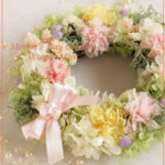 W057 Mother's Day Colorful Wreath Mini