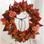 W066 Sunset Color Wreath