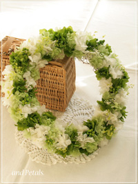 W067 Radiant Wreath