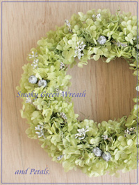 W013 Smoky Green Wreath
