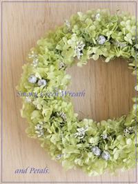 W013 Smoky Green Wreath