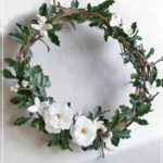 W028 Secret Garden Wreath