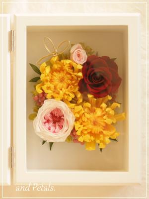 orf2011 ご両親へ花束贈呈