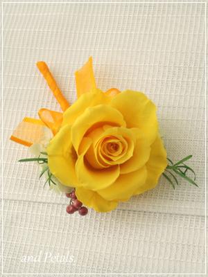orf3001 花束贈呈のブトニア