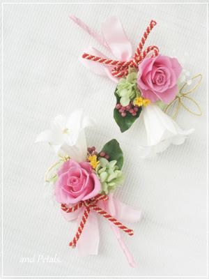 ORM2009 花束贈呈のブトニア