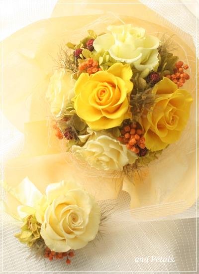 ORY2001 ご両親へ花束贈呈